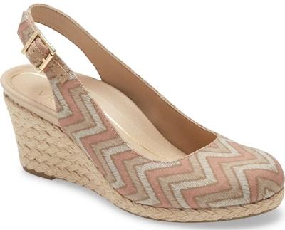 best women's sandals - Vionic espadrille sandal | 40plusstyle.com