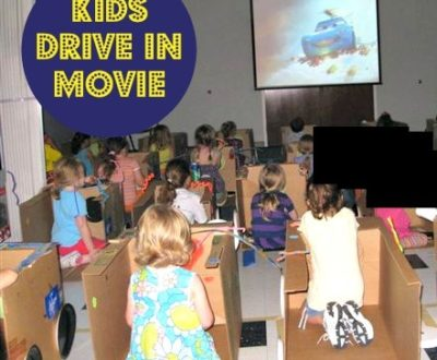 Kids Drive In Movie