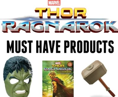 Thor Ragnarok Must Have Products
