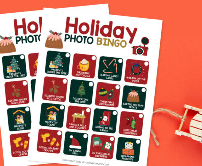 Holiday Photo Bingo