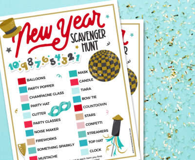 New Year Scavenger Hunt