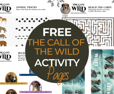 Free The Call of the Wild Activity Sheets