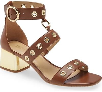 Michael Kors 'Amos' Block Heel Sandal | 40plusstyle.com