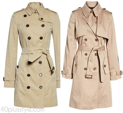 Items to splurge on: a stylish trench coat | 40plusstyle.com