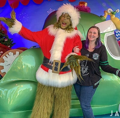 The Grinch at Grinchmas