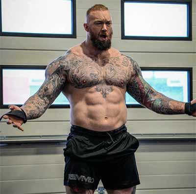 Did Hafthor Julius Bjornsson take steroids