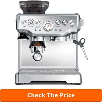 espresso coffee maker with grinder