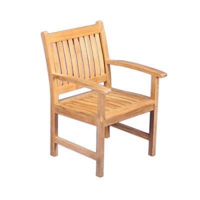 Outdoor Teak Dining Arm Chair