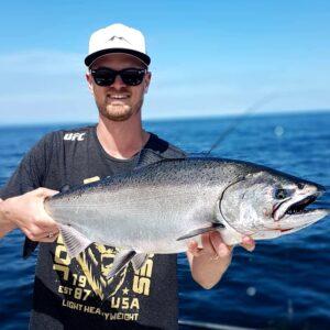 COMOX BC SALMON FISHING