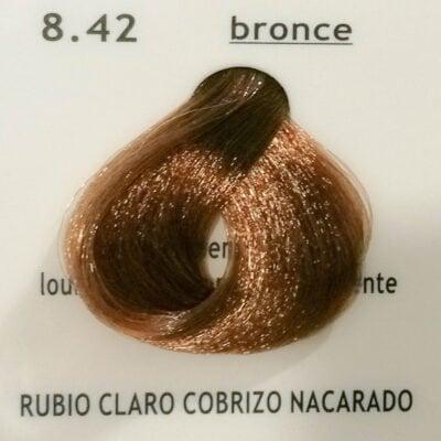 8.42 Rubio Claro Cobrizo Nacarado (Bronce)