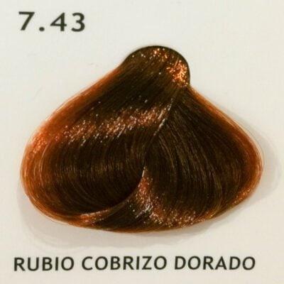 7.43 Rubio Cobrizo Dorado