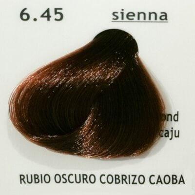 6.45 Rubio Oscuro Cobrizo Caoba (Sienna)