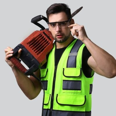 Reflective Vest High Visibility Safety Gear Outdoor Protector Tank Tops