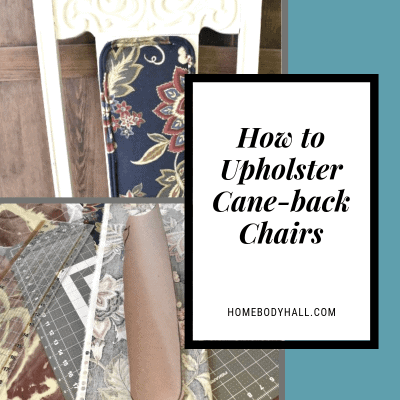 How to Upholster Cane-back Chairs