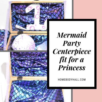 Mermaid Party Idea Centerpiece