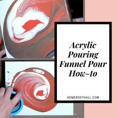 Acrylic Pouring Funnel Pour How-to