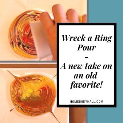 Wreck a Ring Pour- A New Take on an Old Favorite