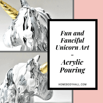 Fun and Fanciful Unicorn Art Acrylic Pouring