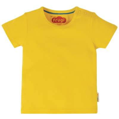 Frugi t-Shirt sunflower gelb GOTS