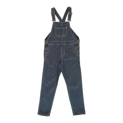 Maxomorra Latzhose denim dungaree medium dark wash bei Kleidermarie.de