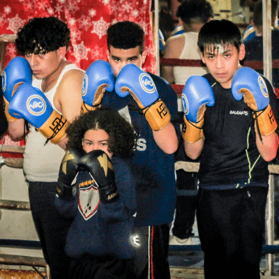 Boxing Gloves Donation   Limitless Golden Mission