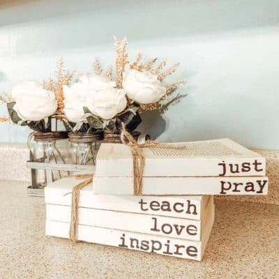 Custom Book Decor by Load of Craft