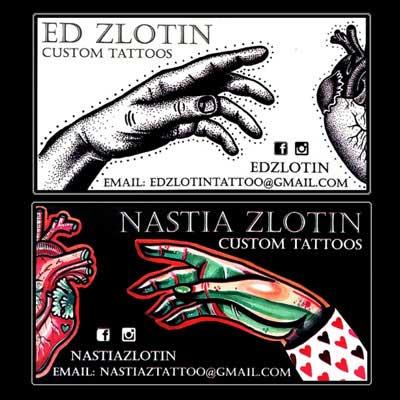 Ed Zlotin Nastya Zlotin