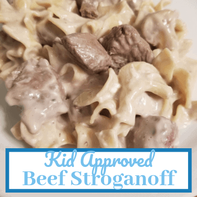 Kid Approved Beef Stroganoff