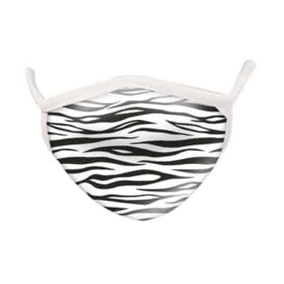 Wild Republic Face Masks: Zebra Print
