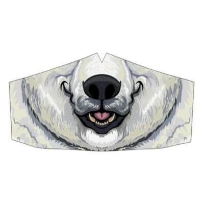 Peppermint Narwhal Mask: Polar Bear