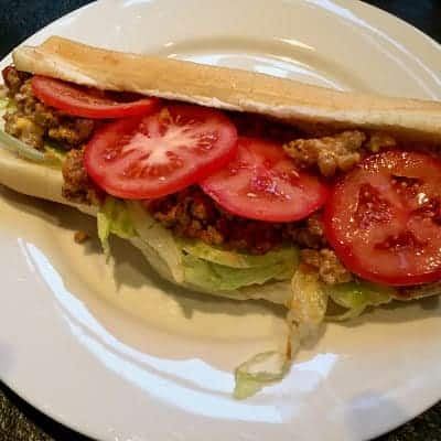 To add to your Summer Burger Repertoire, a recipe worth fighting about…The Chopped Cheese