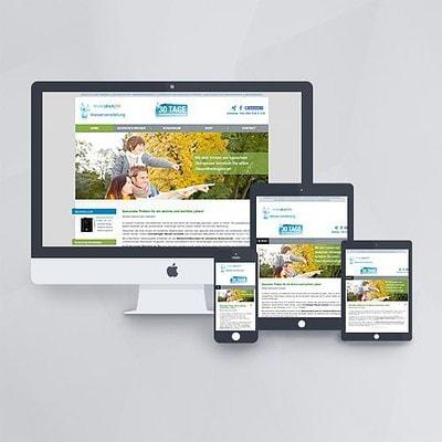 Webdesign - Webseite für Trink Dich Fit mit Joomla und VirtueMart