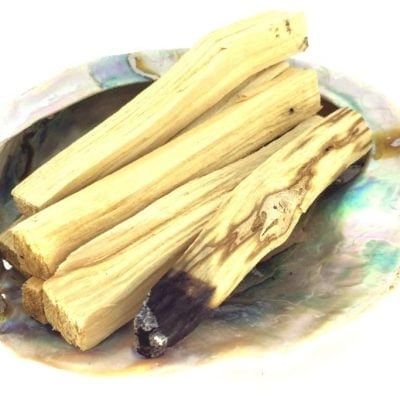 Spiral Crystals Palo Santo Smudge Stick