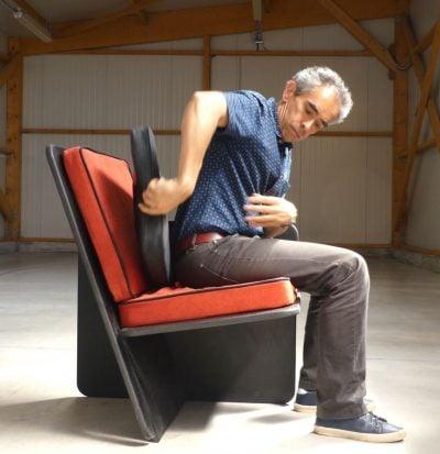 Comment prévenir le mal de dos au fauteuil ?