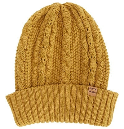 Billabong cable knit beanie | 40plusstyle.com