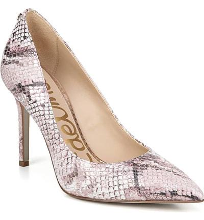 Comfortable Heels - Hazel Pointy Toe Pump | 40plusstyle.com