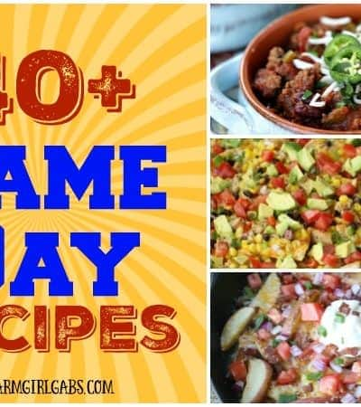 Football season starts now with these 40 Great Game Day Bites. Celebrate the love of the game with one of these delicious tailgating recipes.