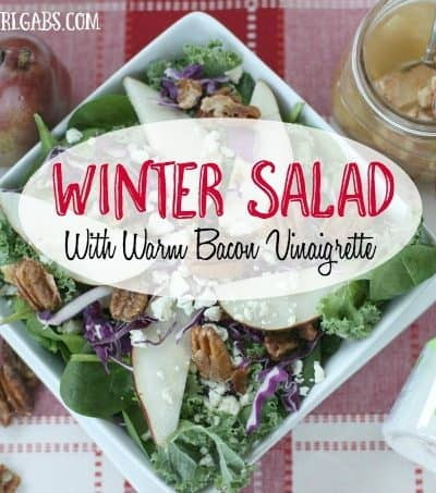 Winter Salad with Warm Bacon Vinaigrette