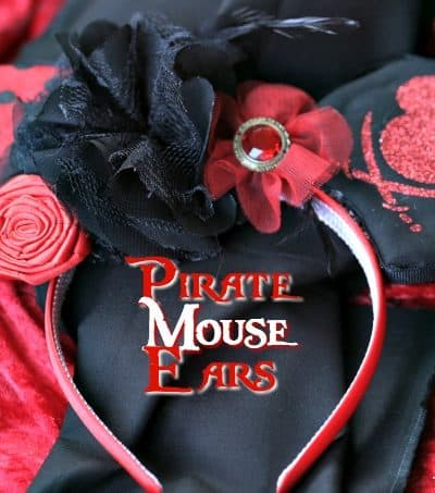 Aargh you ready for a little Disney fun? Create your own pair of Mickey Mouse Pirate Ears. This craft is perfect to make for an upcoming trip to Walt Disney World or on the Disney Cruise Line.