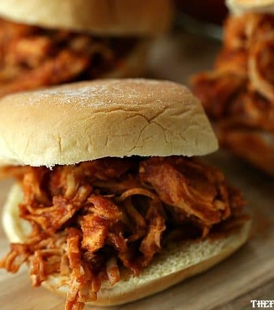 Are you game-day ready? These Shredded BBQ Chicken Sliders are perfect for your big game football party! Score big and your Game Day party with a fantastic spread of these Amazing Dips, Apps, And Snacks