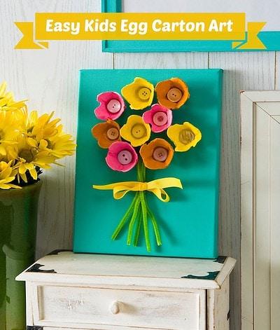 Easy-kids-craft-make-egg-carton-art