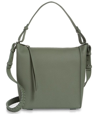 ALLSAINTS Kita Leather Shoulder/Crossbody Bag | 40plusstyle.com