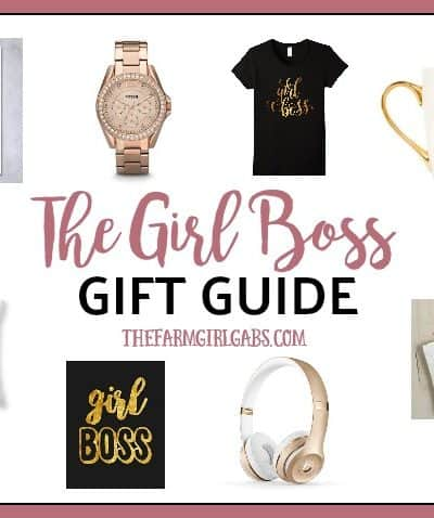Do you know that special someone who works her tail off to achieve her goals? Is that person you? The Girl Boss Gift Guide has some perfect gift ideas the the achiever!