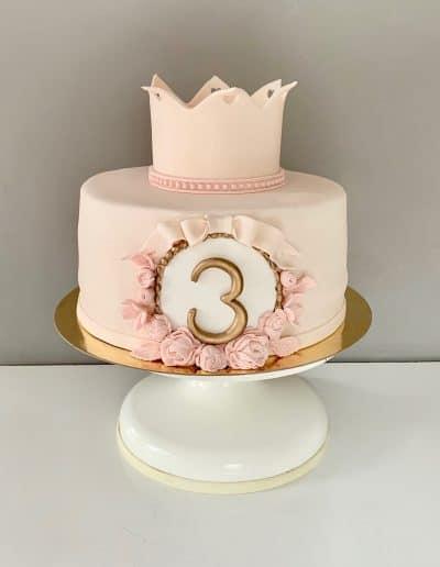 tort urodzinowy dla ksiezniczki