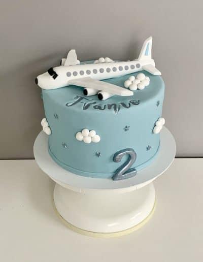 tort dla chlopca samolot
