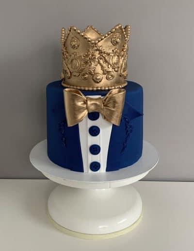 tort korona dla niego