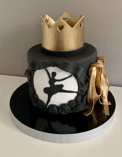 tort baletnica