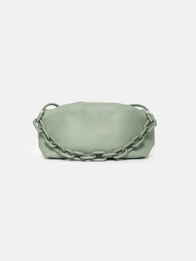 bolso cloudy square verde pastel