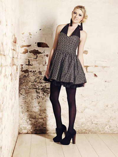 Gothic trend from Jo Borkett Winter Collection