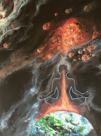 Universum Erde Gedanken Realität